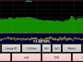 安卓手机版AudioTools频响测试软件