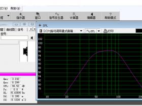 免费易用的音箱设计软件:WinISD