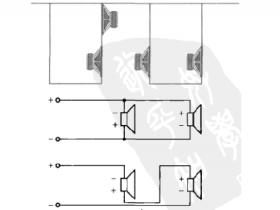 推挽式音箱的扬声器单元结构