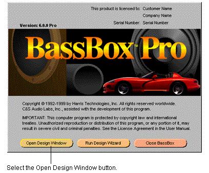 BassBox音箱箱体属性设置